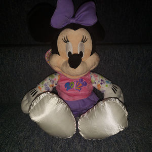 Disney Parks 2012 Minnie Mouse with Hoodie plush